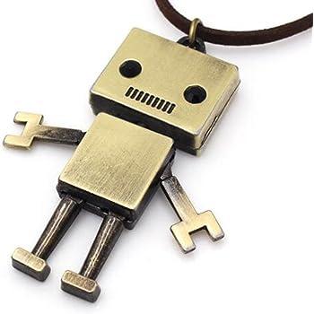 Solid Bronze Robot Android Cufflinks