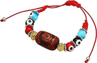 yfstyle Evil Eye Bracelet for Women Men Adjustable Kabbalah Red String Bracelet for Girls Handmade Beaded Bracelets for Pr...