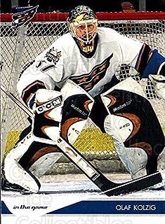 (CI) Olaf Kolzig Hockey Card 2003-04 Toronto Star (base) 99 Olaf Kolzig
