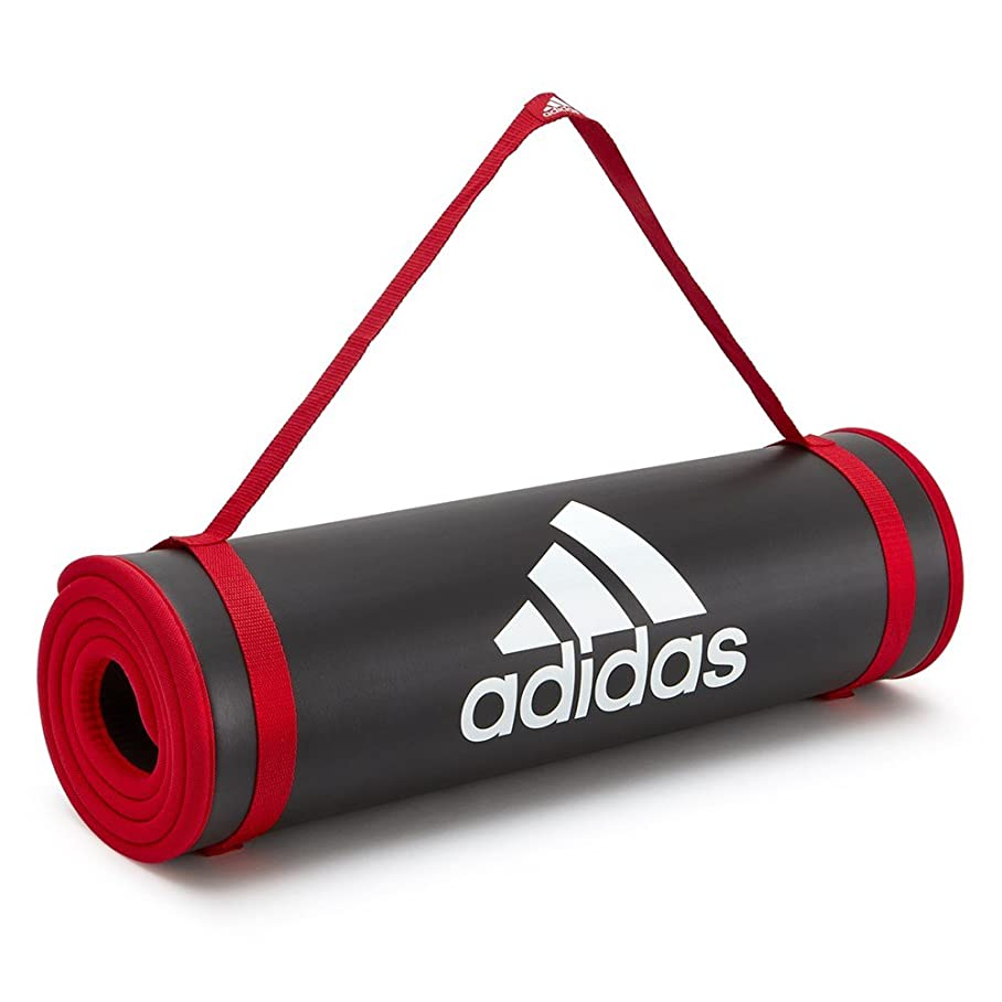 トラフィックシャンプー無視するadidas(アディダス)ヨガ&ストレッチ トレーニング用マット フィットネス ヨガ ピラティス エクササイズ