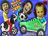 FGTeev Boys Crash, Smash, Soccer Dash Dad vs Sons