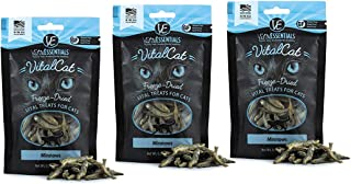 Vital Essentials Vital Cat Freeze-Dried Grain Free Limited Ingredient Cat Treats - 3 Pack