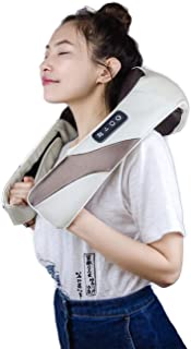 ARONT Shiatsu Neck and Back Shoulder Massager with Heat-Deep Tissue 3D Kneading Massage for Neck, Leg, Shoulder and Foot, Use at Car/Office/Home