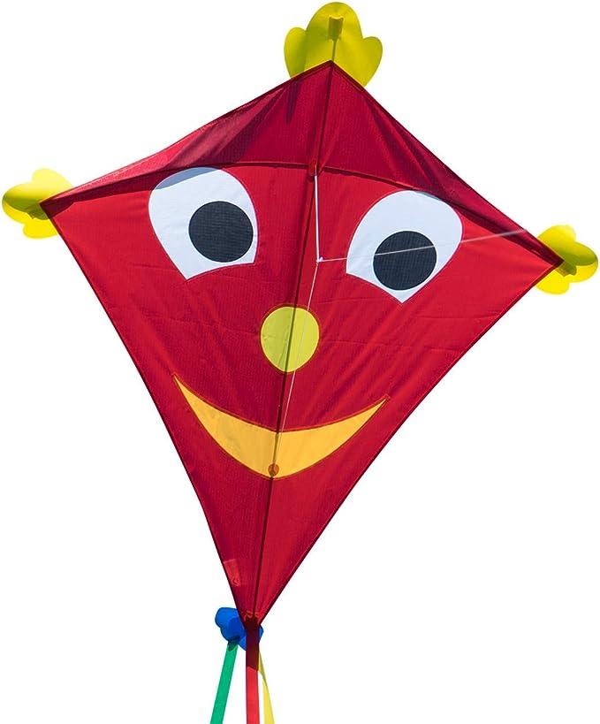 276 opinioni per CIM Grande aquilone- SUPER DRACHEN Happy Eddy XL- Aquilone monofilo per bambini