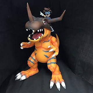 LH-MTZH Digimon Big Adventure Tyrannosaurus Beast Iori Taiichi Digimon Boxed Anime-Abbildung Dekoration Statue Modell Samm...