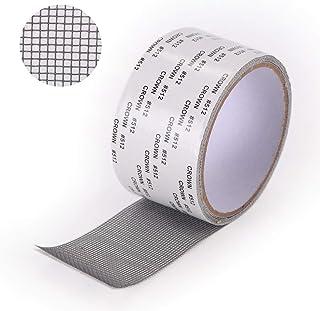 ZITFRI Ruban Adhesif Reparation Moustiquaire - Patch Repare Moustiquaire Réparation de Fenêtre Kit de Moustiquaire Adhesiv...