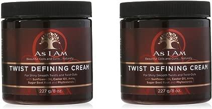 As I Am Twist Defining Cream, 8 Ounce (2 pack)