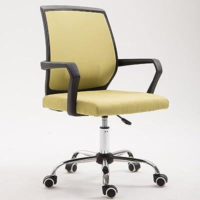 PC CHAIR Sillas de Escritorio de Oficina,Silla ergonómica de Oficina,Giratoria Espalda Media