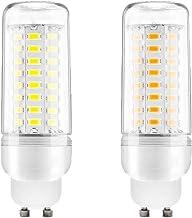 GU10 10W LED Corn Bulbs 100W Incandescent Bulbs Equivalent, Energy Saving Home Light Bulbs Lamp 360°Beam Angle 1000Lm, AC2...