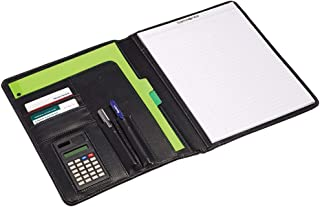 Samsonite Vinyl Bi-Fold Writing Pad, 12 1/4