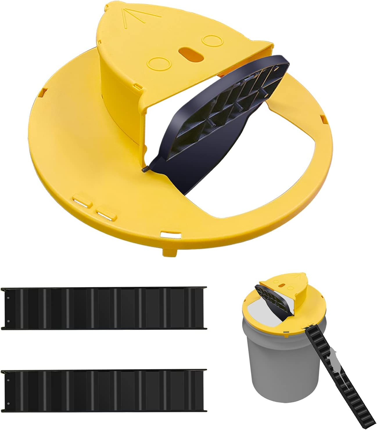 Flipable and Slide Soldering Bucket Lid Mouse Slope Rat Purchase Trap