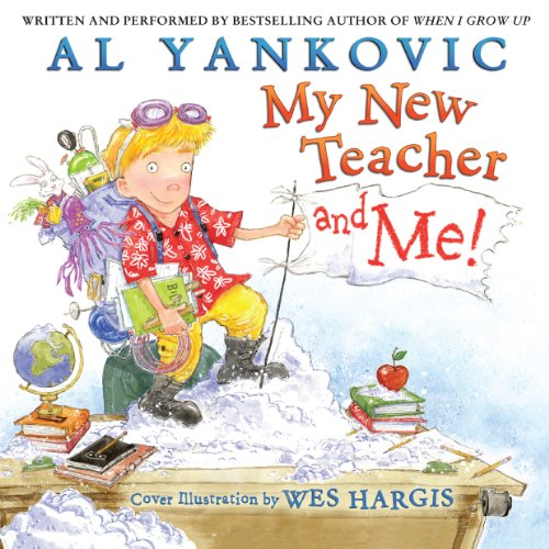 My New Teacher and Me! audiobook cover art