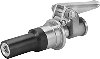 "PROLUBE Quick Disconnect Grease Coupler | Hands Free Operation | No More Mess, Broken Jaws, or Broken Fittings | Universal Usage on All Types of Grease Fittings | 8,000 PSI | 1/8"" NPT Threads #43546"