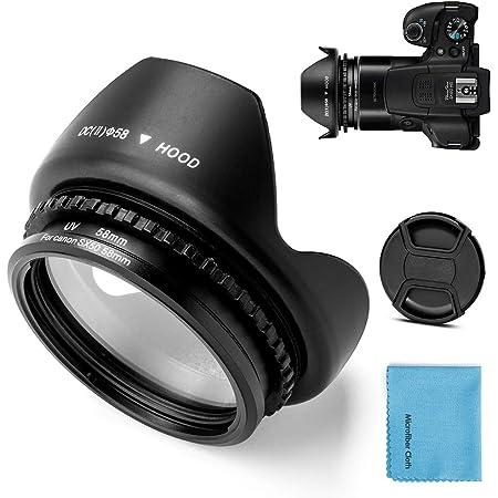 Fotover 58mm Metall Filter Adapter Ring Mit Uv Filter Elektronik