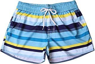 Dragon Blue Textures Mens Swim Trunks Quick Dry Beach Board Shorts with Drawstring Pocket