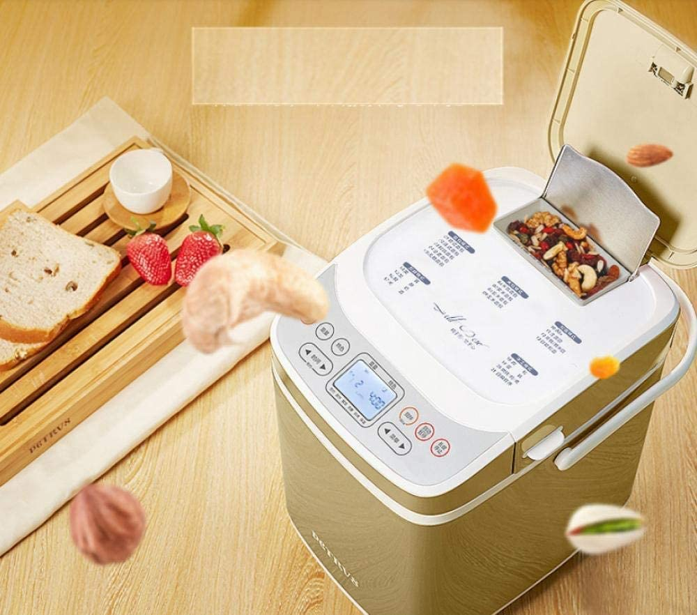 L.TSA Machine à Pain Machine à Pain Ménage Automatique de Fermentation de Nouilles à Petit-Déjeuner Intelligent-Qq03 Qq01.