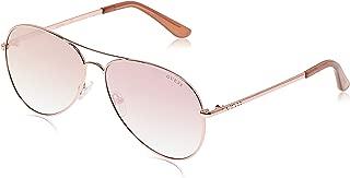 GUESS Unisex Adults' GU6925 28Z 62 Sunglasses, Gold (Oro RosãLucido/Specchiato)