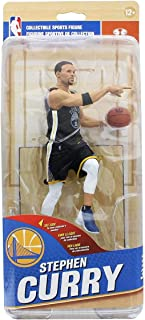 NBA Golden State Warriors McFarlane Series 32 Action Figure: Stephen Curry (Black Jersey Variant)