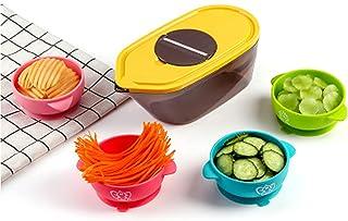 XIGU Slicer Mandoline Food Choppers Cuisine Outil de Cuisine Slice Ménage Coupe de légumes Multifonctions, Cuisine Domesti...
