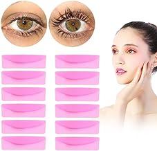 6 Pares de Silicona Durable Rizador de Pestañas Eye Lash Curling Lifting Eye Lashes Pad Maquillaje Permanente Permanente de Pestañas Falso