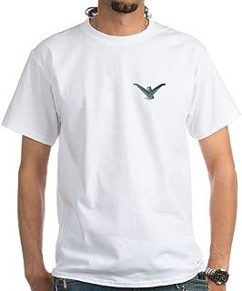 CafePress Thunderbird Emblem White T-Shirt Cotton T-Shirt