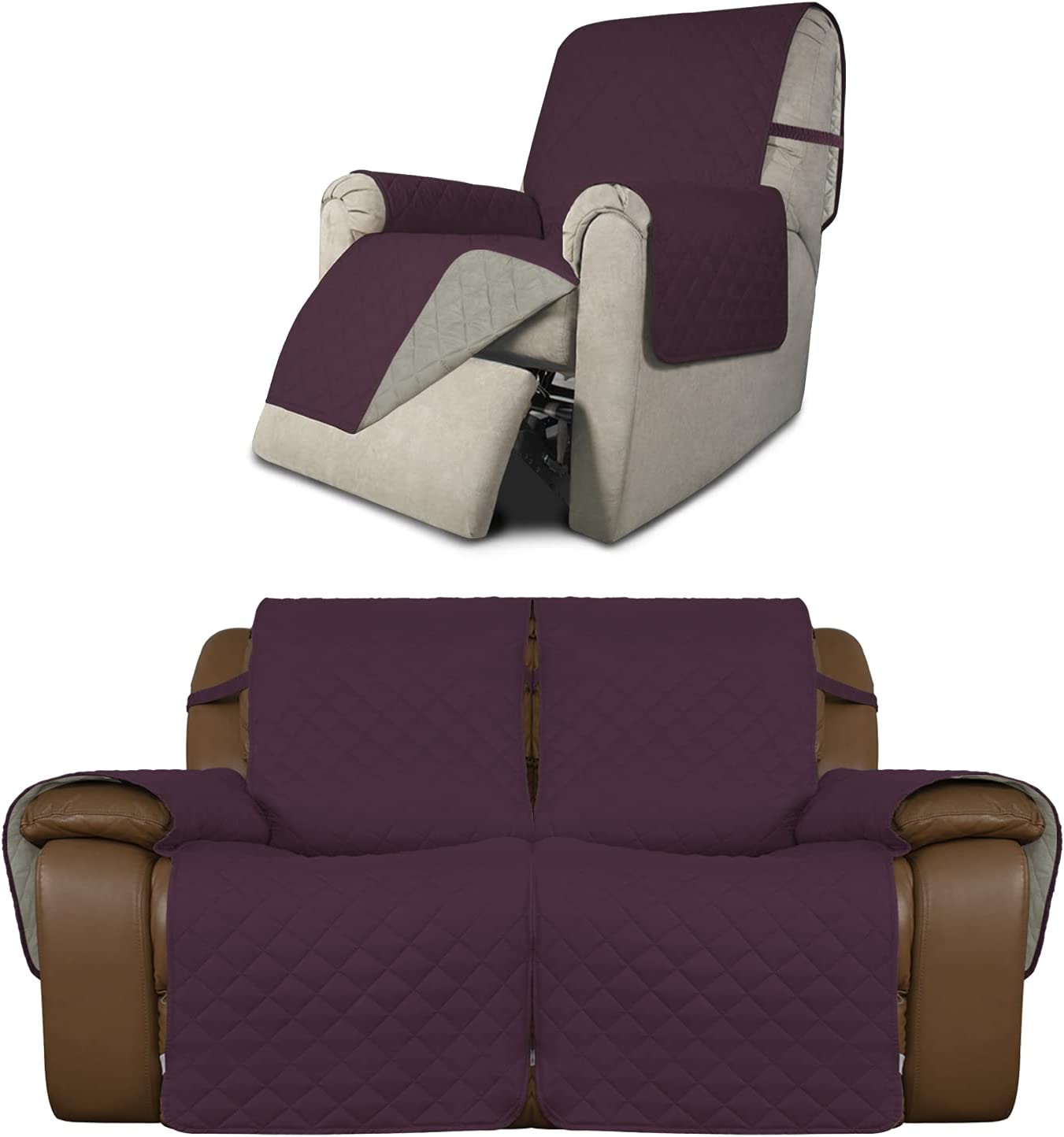Easy-Going Product Bundles Reversible Recliner Max 73% OFF Cover,Lov Chair Inventory cleanup selling sale
