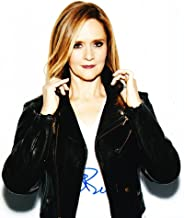SAMANTHA BEE SIGNED 8X10 PHOTO AUTHENTIC AUTOGRAPH FULL FRONTAL COA B