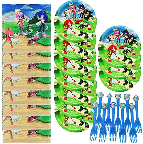 Sonic the Hedgehog Party Supplies (Pack of 16)