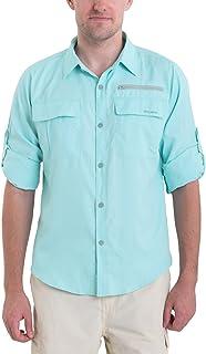 Baleaf Men's Lightweight Quick Dry UPF 50+ Long Sleeve Shirt