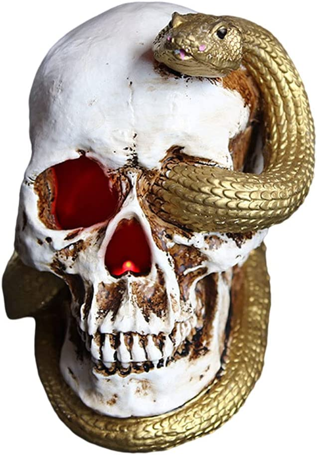 FROC Home Decor Ornaments Max 66% OFF for Living Skull Room unisex Head Simulation