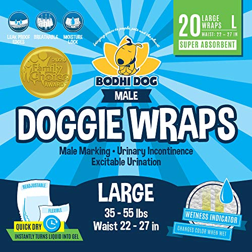Dog Diapers Male Urine Only