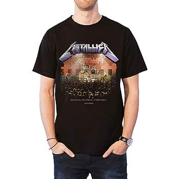 STOCKHOLM 86 Official T Shirt All Sizes Black Mens Licensed Merch New METALLICA