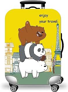 TDC Men's Elastic Luggage Cover Super Cute Panda XL panda