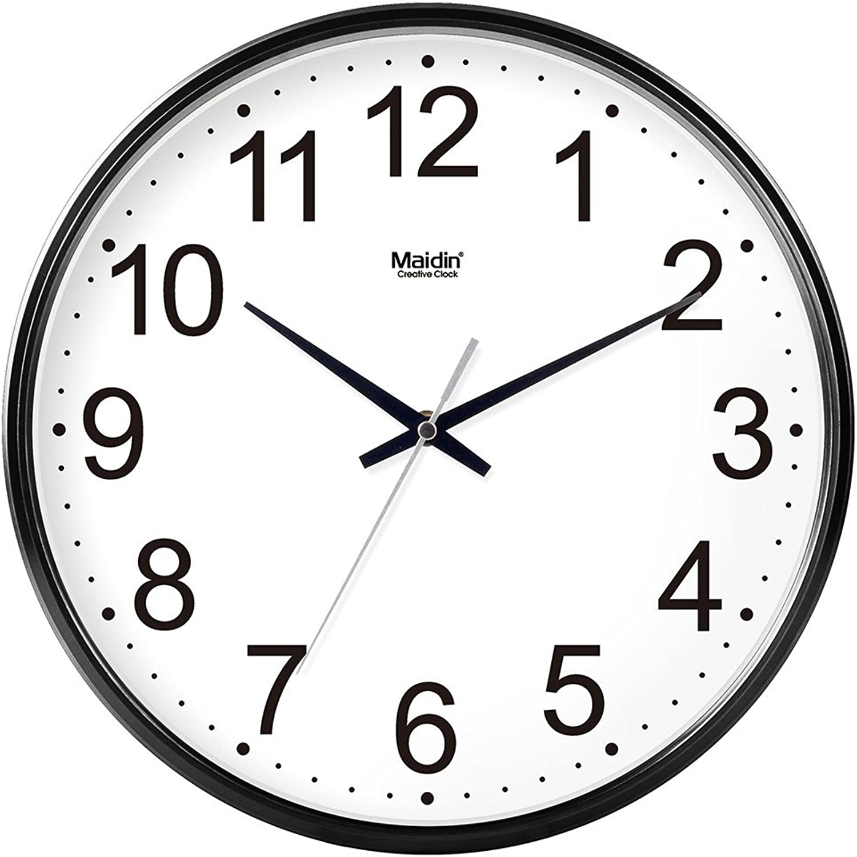 deportes calientes Oudan Reloj de Parojo Sin marcar Número Cuarzo Cuarzo Cuarzo Reloj de Parojo Sala de Estar Decorativo Reloj Interior Dormitorio Reloj de Cocina Reloj silencioso en Mesa Reloj de Cuarzo Calendar14 In azul-024  edición limitada en caliente