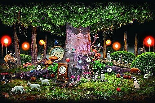 1000 Teile Puzzle Ziel des Guru (Kusuda Satoru-shi) Wald von Zeit (50x75cm)