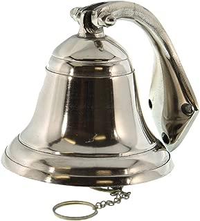 IOTC FBA_B003S7V5U6 Polished Aluminum Dinner Bell 4