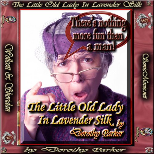 The Little Old Lady in Lavender Silk audiobook cover art