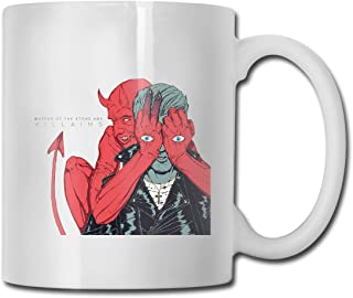 DaihAnle Queens of The Stone Age Villains Novelty and Interesting Personality Coffee Cup Water Tea Drink Cup