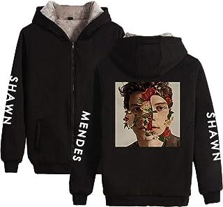 79d150f08c014 CTOOO Sweats à Capuche Zippé Épaissir Shawn Mendes Vêtements Commémoratifs  Homme Femme Ado 2XS-3XL