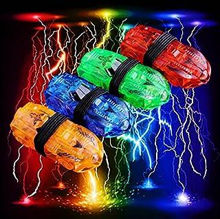 20 LED Car Shaped Laser Finger Beam Flash Lights , 5 cards of 4 lights - 20 Lights Total