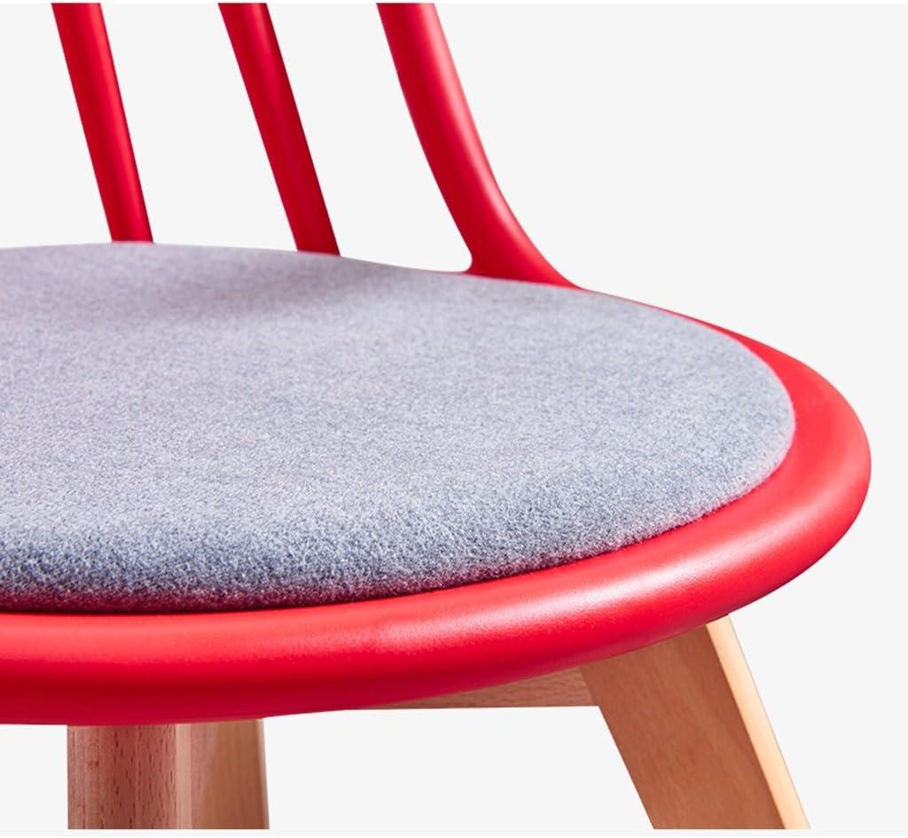 Président WGZ- Chaise de Salle à Manger en Bois Massif Simple (Color : B) E