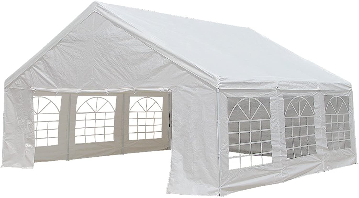 Wallaroo 6x6 White Gazebo Party Wedding Tent Event Marquee Outdoor Canopy Shade