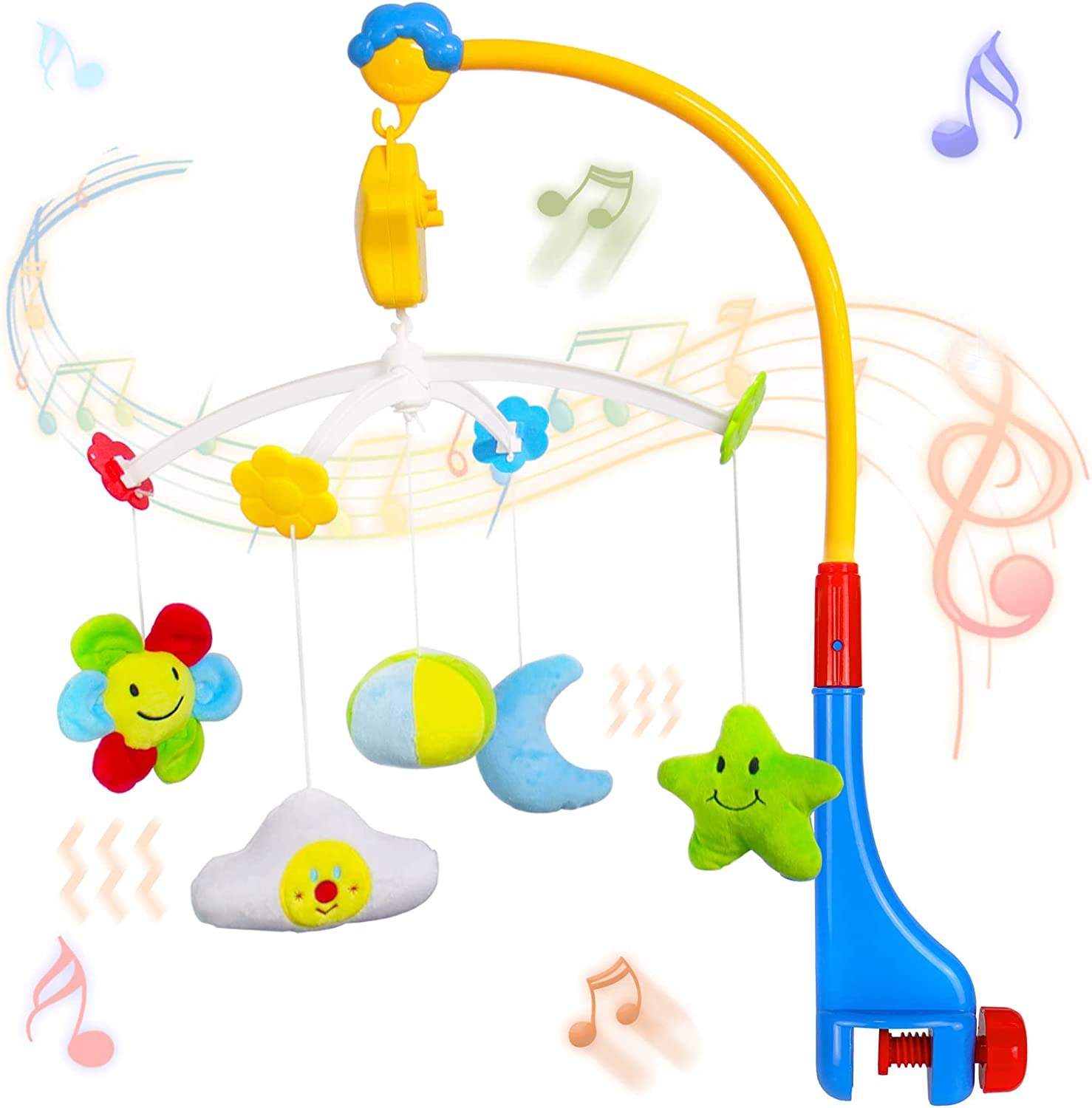 Baby Mobile for Crib Animer and price revision Nursery with Mobiles Bassinet SEAL limited product Toys