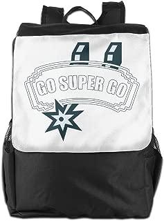 XIVEIER Design Go Super Go Slogan Geek Travel Backpack For Boys.students