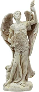 Ebros Ivory Finish Saint Uriel The Archangel Statue 5