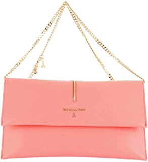 Patrizia Pepe Women's 2V5460A2OIPINK Pink Leather Clutch
