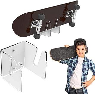 Hifuture Support mural pour skateboard - En acrylique - Invisible - Transparent