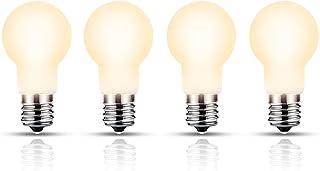 【Amazon限定ブランド】LED電球 口金直径17mm 広配光 50W形相当 電球色 ミニランプ形電球 省エネ 断熱材施工器具対応 調光器非対応 台所 リビング ダイニング4個入