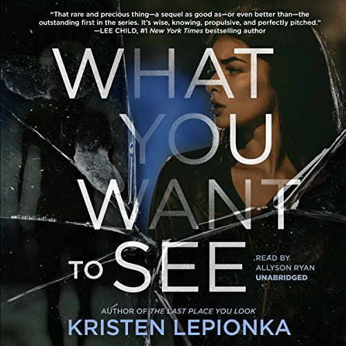 What You Want to See audiobook cover art