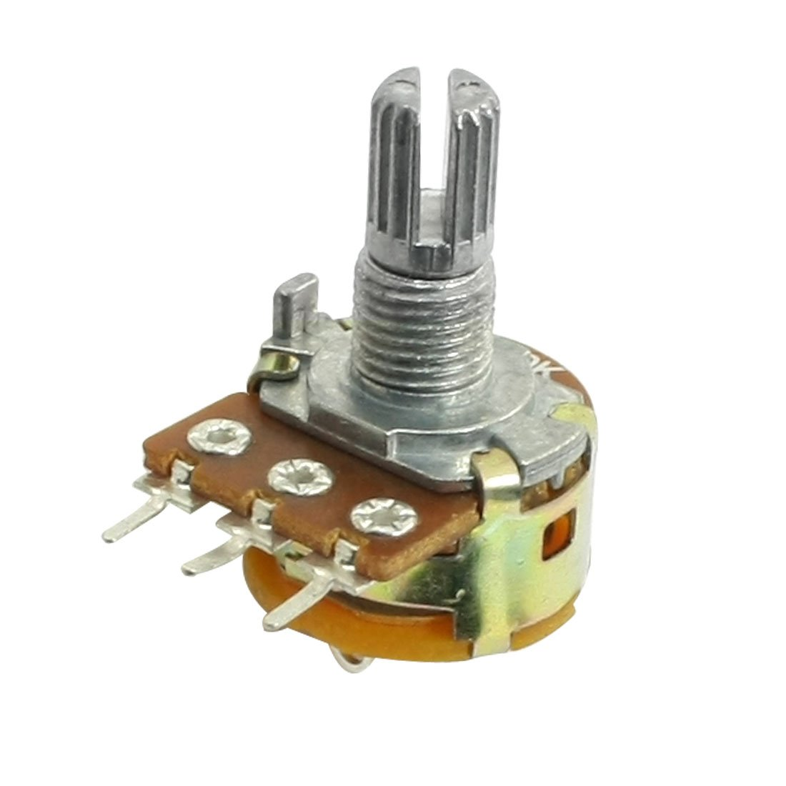 uxcell 50K OHM Single Linear Pot Indianapolis Mall Rotary B50K Potentiometer Taper Ranking TOP7